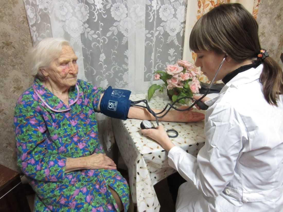медицинское обслуживание инвалидов на дому